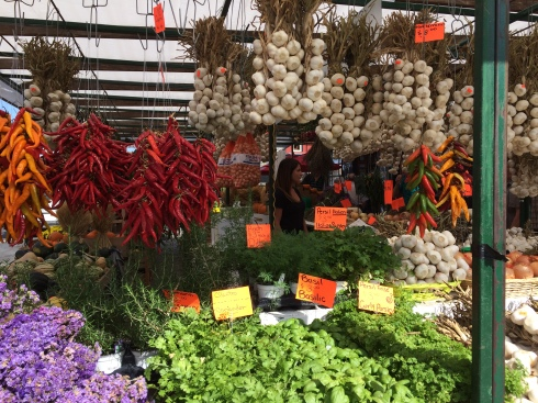 veggies in market